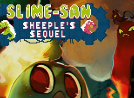 Slime-san: l'espansione Sheeple's Sequel è in arrivo il 10 luglio su Nintendo Switch