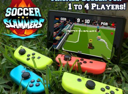 Soccer Slammers: il titolo in arrivo il 14 giugno sull'eShop di Nintendo Switch