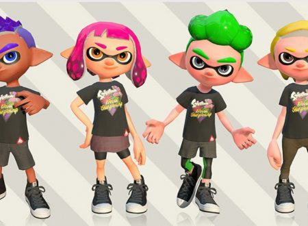 Splatoon 2: ora disponibili le T-Shirt dedicate allo Splatoon 2 World Championship