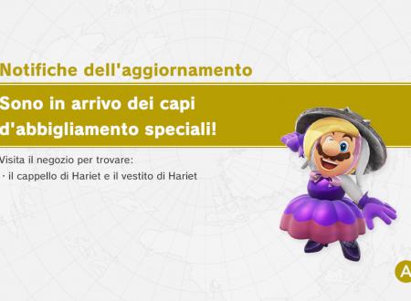 Super Mario Odyssey: il cappello e il vestito di Hariet sono ora disponibili nel titolo