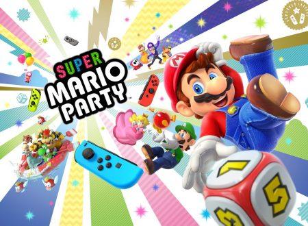 Super Mario Party: pubblicato il trailer di lancio italiano del titolo