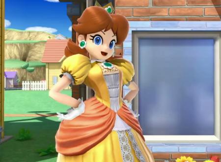 Super Smash Bros Ultimate, la Principessa Daisy mostrata in un video dedicato