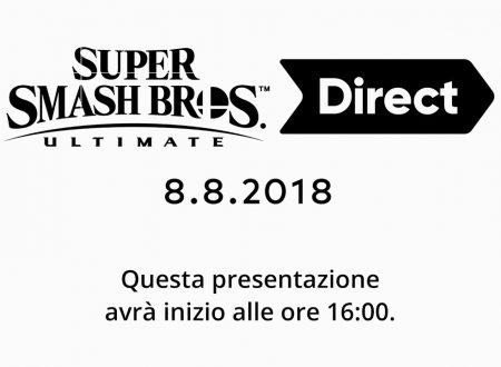 Super Smash Bros. Ultimate Direct: link e video della diretta livestream di Nintendo