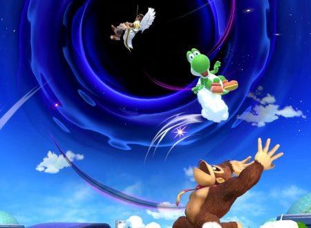 Super Smash Bros. Ultimate: novità del 19 giugno 2018, Le rovine, Buco Nero e Mario
