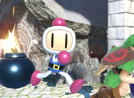 Super Smash Bros. Ultimate: novità del 20 giugno 2018, Bomberman e il brano Bomb Rush Blush delle Sea Sirens