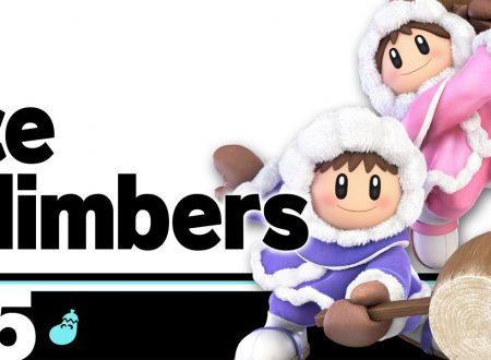 Super Smash Bros. Ultimate: novità del 22 giugno, Ice Climbers, il ritorno dieci anni dopo nel brand