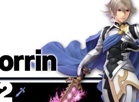Super Smash Bros. Ultimate: novità del 25 giugno, Corrin, ora personaggio main del roster