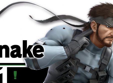 Super Smash Bros. Ultimate: novità del 26 giugno, il ritorno furtivo di Snake