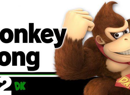 Super Smash Bros. Ultimate: novità del 29 giugno, Donkey Kong, lo scimmione tirapugni