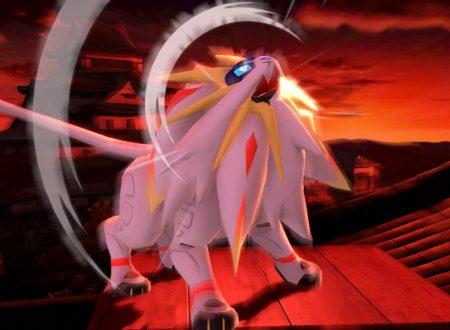 Super Smash Bros. Ultimate: novità del 28 giugno, Solgaleo e Lunala, i leggendari Pokèmon di Alola