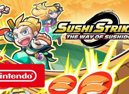 Sushi Striker: The Way of Sushido, pubblicato il trailer di lancio del titolo
