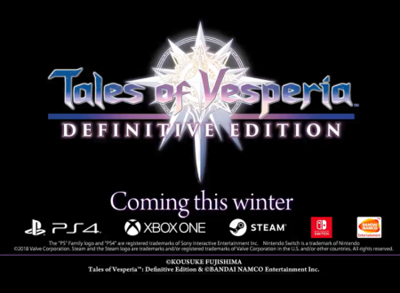 Tales of Vesperia: Definitive Edition, il titolo è in arrivo anche su Nintendo Switch
