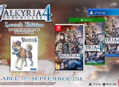 Valkyria Chronicles 4: il titolo è in arrivo il 25 settembre sui Nintendo Switch europei