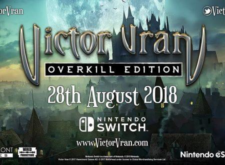 Victor Vran: Overkill Edition, il titolo è in arrivo il 28 agosto sui Nintendo Switch europei.