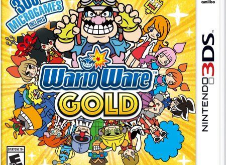 WarioWare Gold: la boxart americana mostra dei nuovi personaggi nella serie