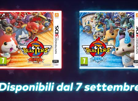 Yo-kai Watch Blasters: Cricca dei gatti rossi e Banda dei cani pallidi, sono in arrivo il 7 settembre sui Nintendo 3DS europei