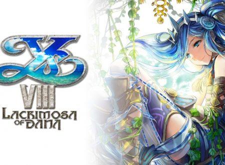 Ys VIII: Lacrimosa of DANA, pubblicato il trailer di lancio del titolo su Nintendo Switch