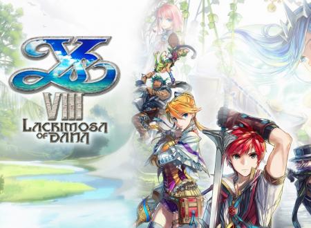 Ys VIII: Lacrimosa of DANA, il titolo ora aggiornato alla versione 1.0.4 sui Nintendo Switch europei