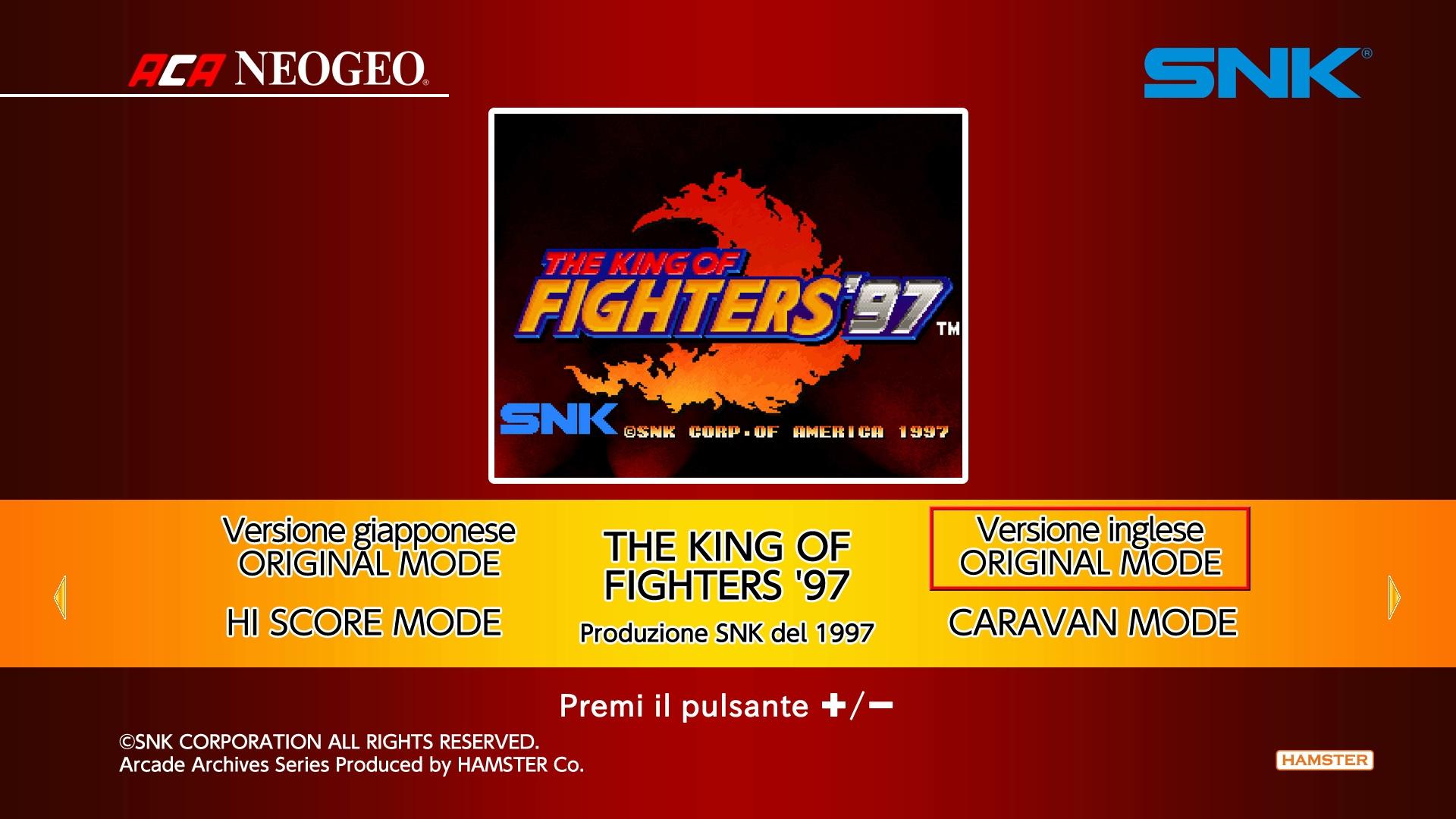 Aca Neogeo The King Of Fighters 97 Uno Sguardo In Video Al