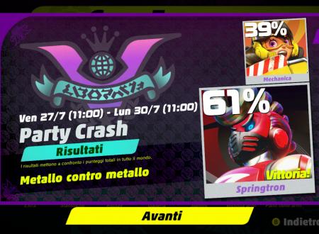 ARMS: Springtron è il vincitore del tredicesimo Party Crash: Metallo contro Metallo