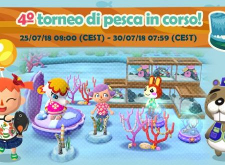 Animal Crossing: Pocket Camp: disponibile il quarto torneo di pesca di Castore a Cala salmastra