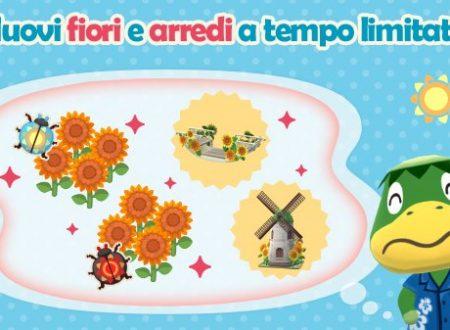 Animal Crossing: Pocket Camp: ora disponibile la seconda parte dell'evento Bottino fiorito di Remo