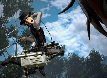 Attack on Titan 2: Future Coordinates, un update gratuito è in arrivo il 9 agosto su Nintendo Switch