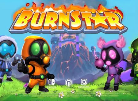 Burnstar: pubblicato il trailer di lancio del titolo su Nintendo Switch