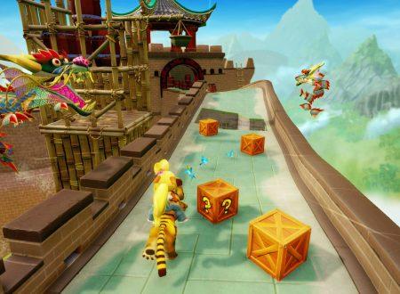 Crash Bandicoot N. Sane Trilogy: un video mette a confronto il framerate della versione Nintendo Switch, con quelle PS4/Pro e Xbox One/X