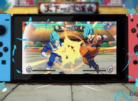 Dragon Ball FighterZ: pubblicato un video commercial giapponese sulla versione Nintendo Switch