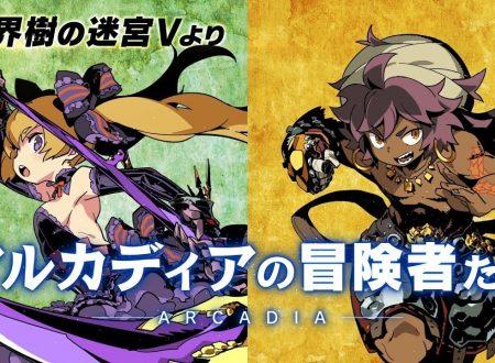 "Etrian Odyssey X: pubblicato il trailer giapponese ""Adventurers of Arcadia"""