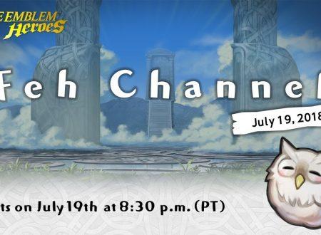 Fire Emblem Heroes: una nuova diretta livestream del FEH Channel, in arrivo il 20 luglio