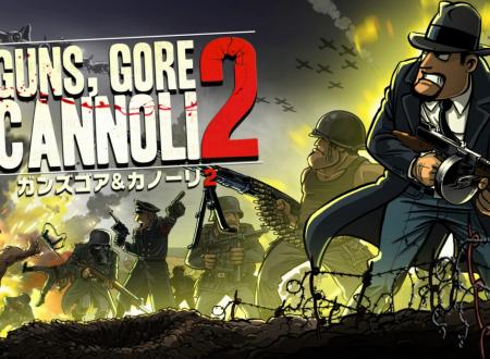 Guns, Gore & Cannoli 2: il titolo è in arrivo il 2 agosto sull'eShop di Nintendo Switch