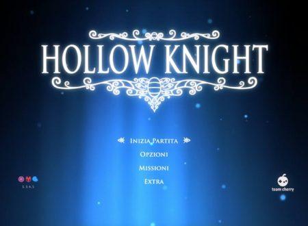 Hollow Knight: il titolo ora aggiornato alla versione 1.3.4.5 sui Nintendo Switch europei