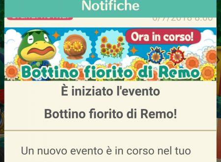 Animal Crossing: Pocket Camp: ora disponibile l'evento Bottino fiorito di Remo