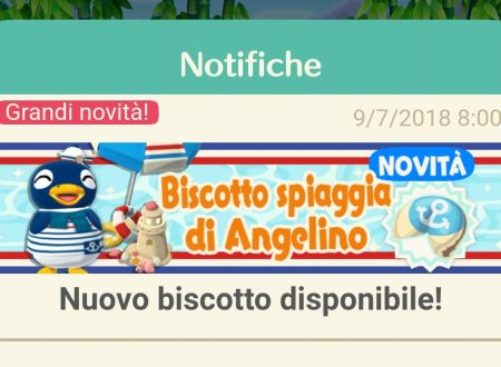 Animal Crossing: Pocket Camp, ora disponibile il biscotto della fortuna di Angelino