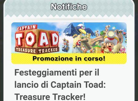 Super Mario Run: nuovi oggetti per festeggiare il lancio di Captain Toad: Treasure Tracker