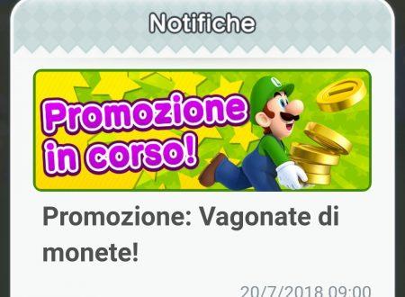 """Super Mario Run: un nuovo revival per la promozione """"Vagonate di monete"""""""