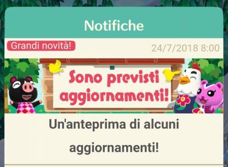 Animal Crossing: Pocket Camp, tutte le novità del update, presto in arrivo