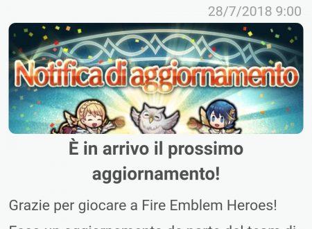 Fire Emblem Heroes: svelati i contenuti del prossimo aggiornamento di agosto