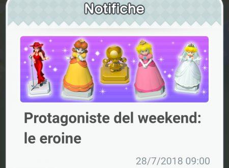 Super Mario Run: disponibili gli oggetti delle eroine, protagoniste del weekend