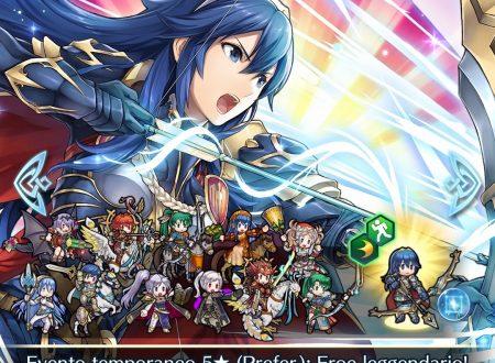 Fire Emblem Heroes: ora disponibile l'evento evocazione Eroi leggendari: Lucina, l'arciera gloriosa