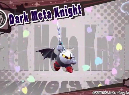 Kirby Star Allies: pubblicato un nuovo video che ci mostra Dark Meta Knight