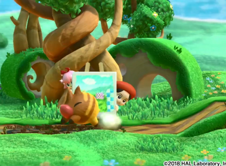 Kirby Star Allies: un video ci mostra in azione Adeleine e Ribbon nel titolo