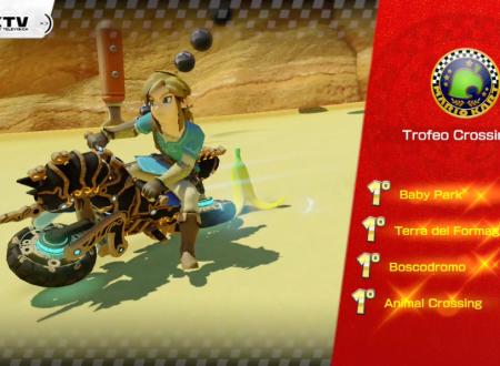 Mario Kart 8 Deluxe: ora disponibile la versione 1.6.0, aggiunto Link e il Destriero di Hyrule Zero da Breath of The Wild
