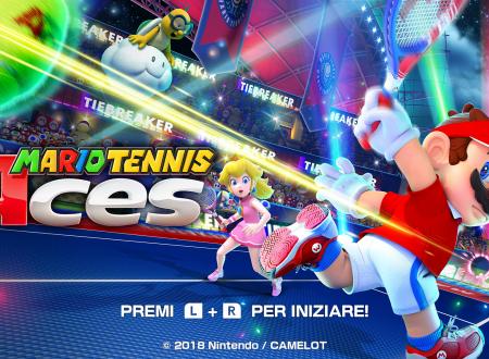 Mario Tennis Aces: il titolo ora aggiornato alla versione 1.1.2 sui Nintendo Switch europei