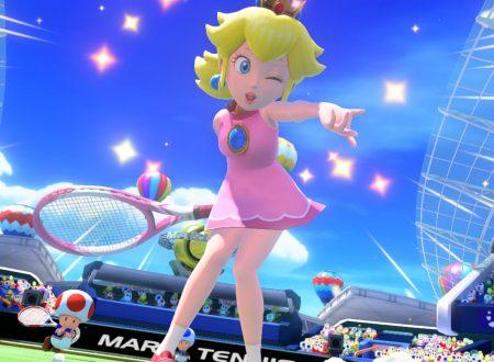 Mario Tennis Aces: la versione 1.2.0 è in arrivo domani sui Nintendo Switch europei
