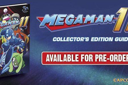 Mega Man 11: svelata la Official Collector's Edition Guide dedicata al titolo