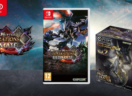 Monster Hunter Generations Ultimate: il titolo è ora in preorder sul Nintendo UK Store con figure