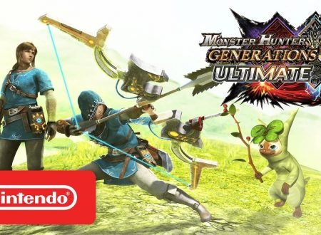 Monster Hunter Generations Ultimate: la collaborazione con Zelda: Breath of the Wild confermata anche per l'Occidente